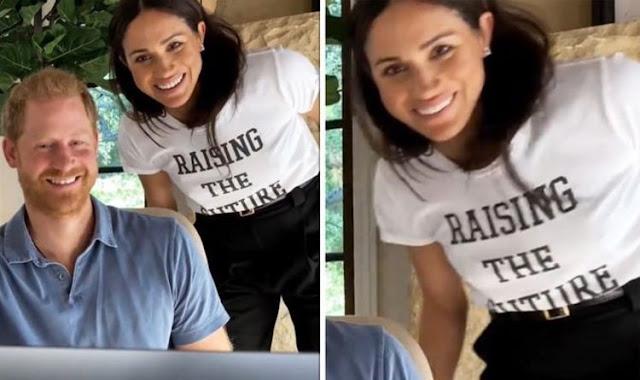 Meghan Markle Raising The Future T Shirt.  PYGear.com