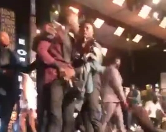 'It's a shame Ghana music supports this arrogant cripple' - Shatta Wale calls out Stonebouy for pulling out a gun on him on stage
