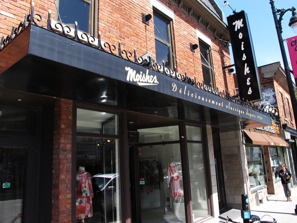 Restaurant Moishes Montreal