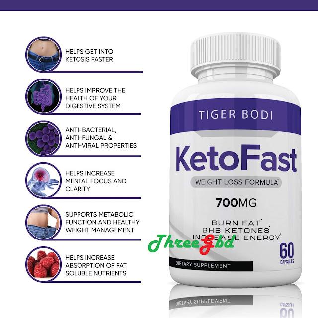 How Ketofast 700 mg Works?