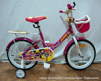 Sepeda Anak Avand Aiko 16 Inci