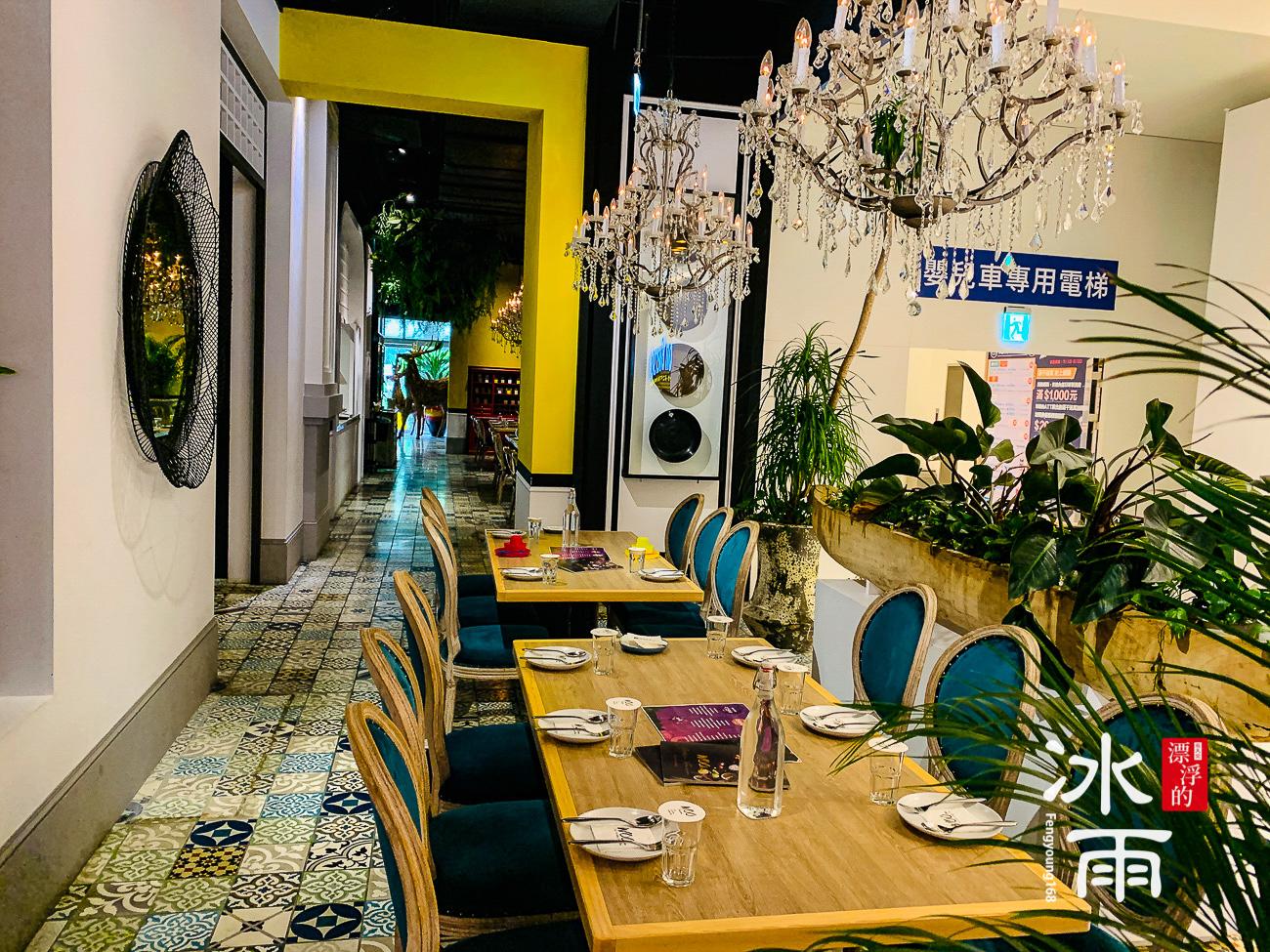 WOOTAIWAN大直ATT店|混搭風格的室內空間