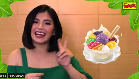 Angel Locsin Has Just Revealed How She Eats Her Favorite Pinoy Halo-halo!