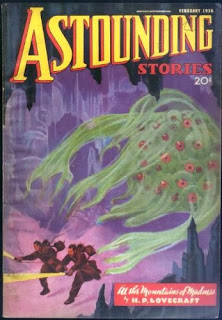 Cover of the Astounding Stories science fiction magazine where the novella was first published