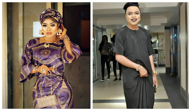 You don't expect me to glam up to surprise my dad– Bobrisky reveals on why he dresses like a man to see his dad