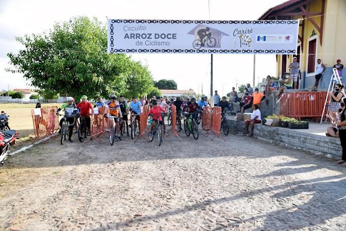 """Realizado o """"Circuito Arroz Doce de Ciclismo""""; confira a lista dos vencedores por categorias"""