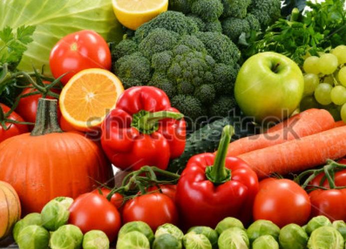 cara hidup sehat dengan buah-buahan dan sayauran