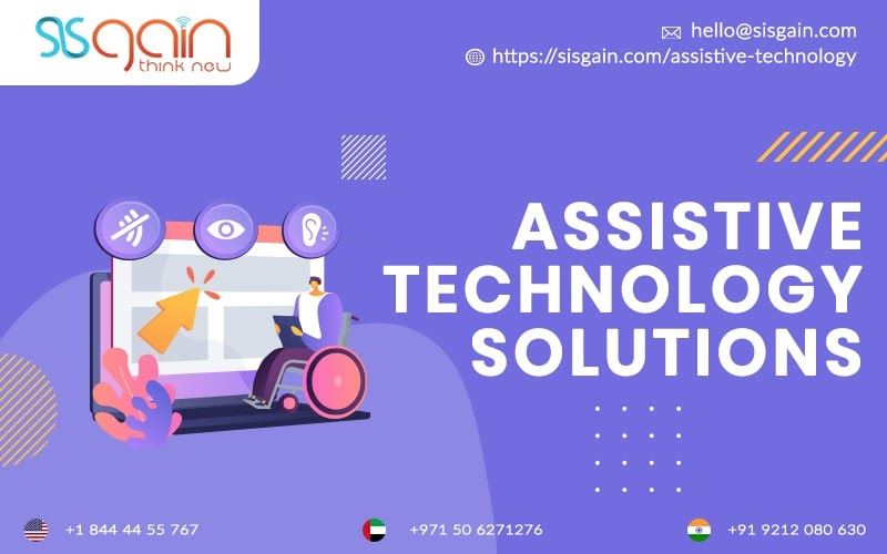 Through Assistive Technology Software Services New Opportunities for Needy Individuals