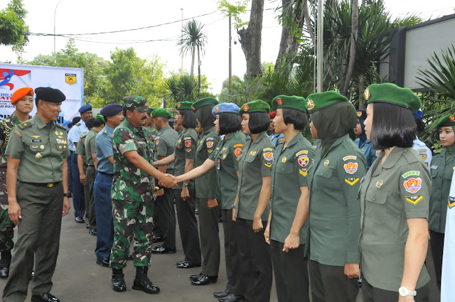 77 TNI Athletes Join the World Military Olympiad in Wuhan