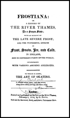 Title page of Frostiana by George Davis (1814)
