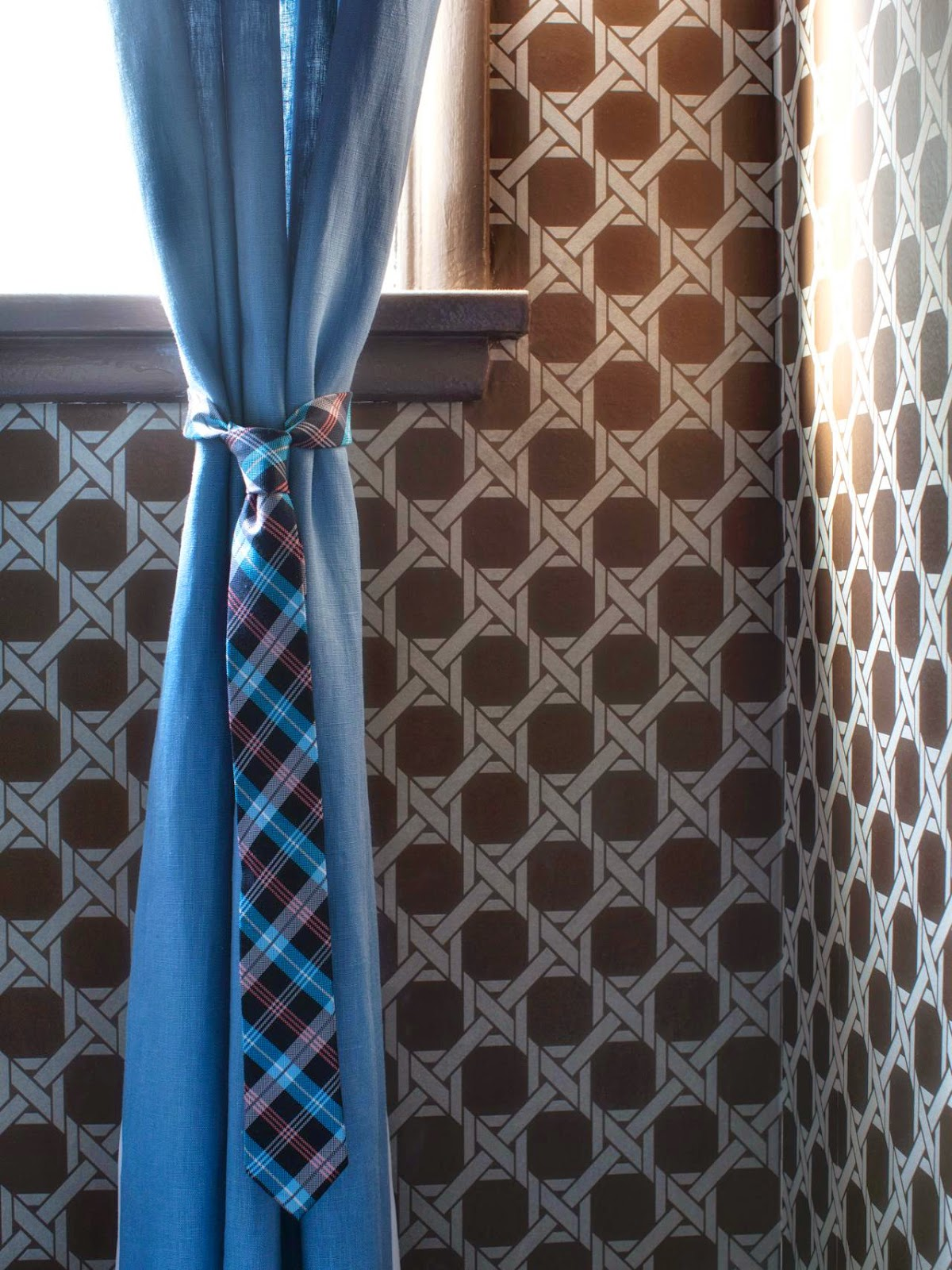 10 Clever Curtain Tie Backs Home Made Modern