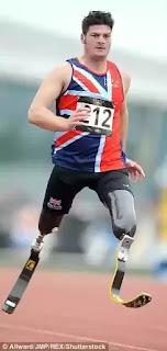 Britain's blade runner Dave Henson