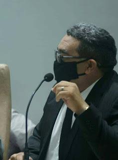 vereador Nal Fernandes em sua fala defendeu aprovação do projeto de lei  nº 27/2021 do vereador Ramon Menezes