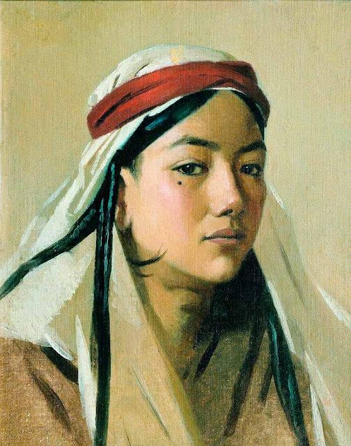 Василий Васильевич Верещагин - Портрет бачи. 1867-1868