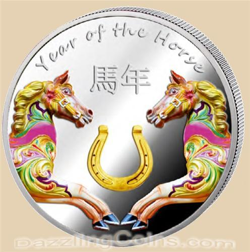 More 2014 Lunar Horse Coin Releases Canter In - Laos, Cook ...