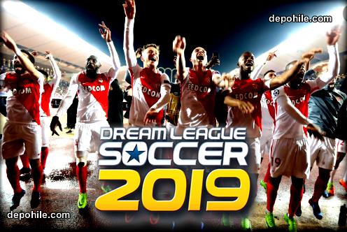 DLS19 AS Monaco FC Takımı Yaması İndir Onyekuru, Slimani..