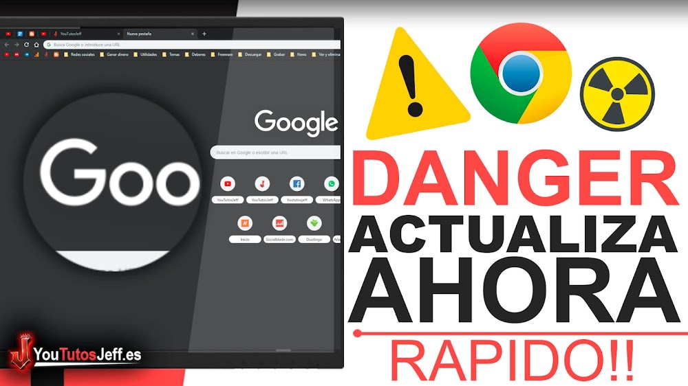 Actualiza Google Chrome Urgentemente - Peligroso Bug Chrome