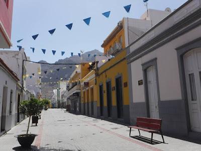 Aldea de San Nicolas strade