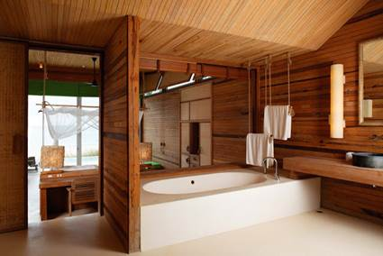Wood Paneling Waterproof In Bathrooms 5