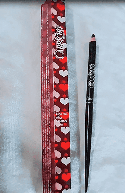 delineado simples como lápis