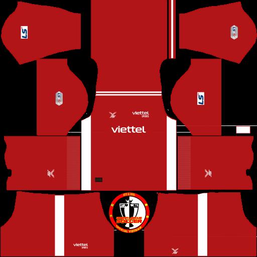 Kits Viettel FC 2021 - Dream League Soccer & FTS