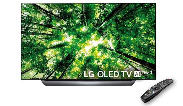 LG OLED55C8PLA: panel 4K de 55 pulgadas