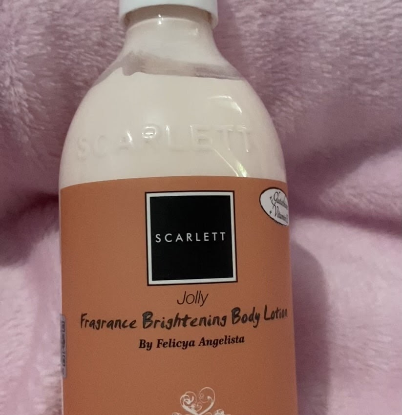 Review Jolly Fragrance Brightening Body Lotion