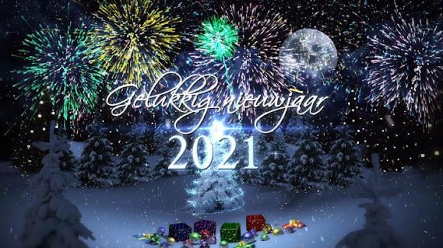 Gelukkig Nieuwjaar 2021 nieuwjaarswensen