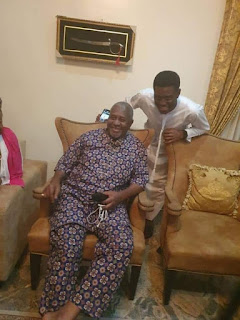 Sambo Dasuki Smile As He Regains Freedom (Photo)