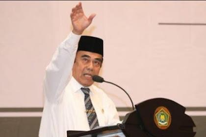 Menag Fachrul Razi Marah dengan Pendakwah Bodohi Umat: Bencana Dibilang karena Maksiat