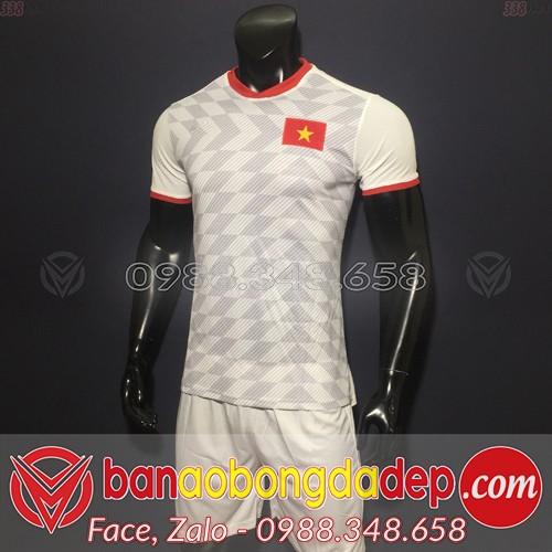 Áo Việt Nam Trắng Sân Khách 2019 2020