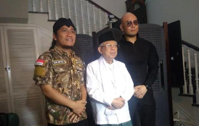 Doa dan Wejangan KH Ma'ruf Amin untuk Deddy Corbuzier