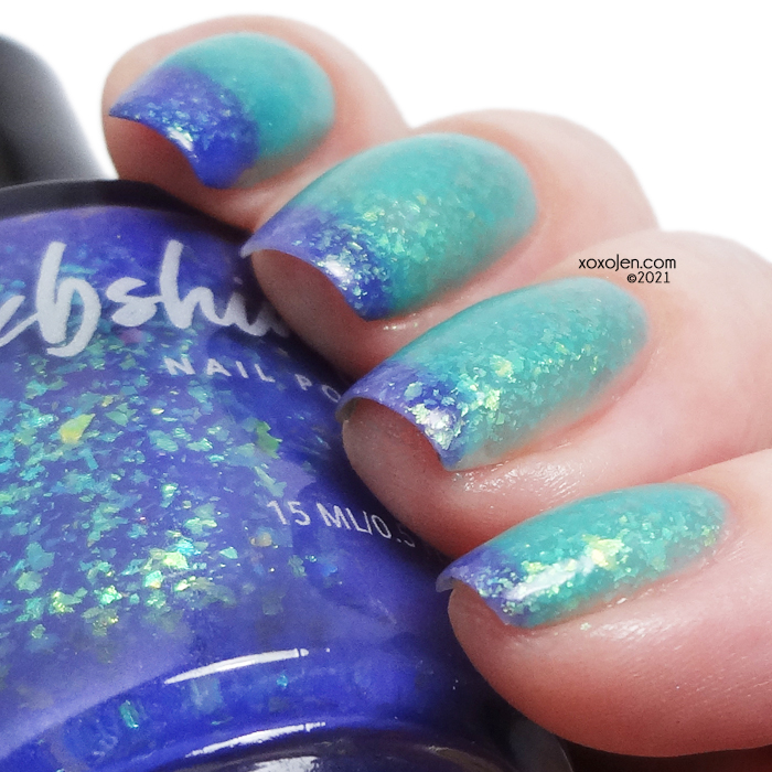 xoxoJen's swatch of KBShimmer Branching Out