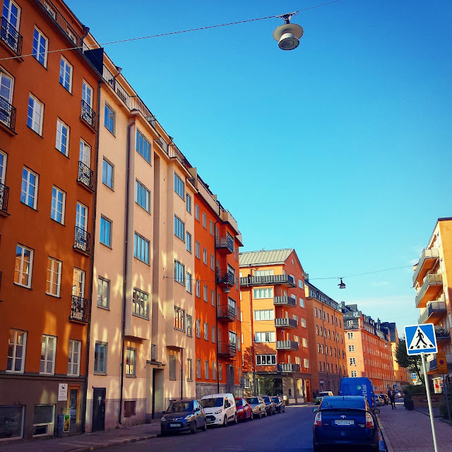 Kungsholmen streetscape  |  Learning to speak Swedish on afeathery*nest  |  http://afeatherynest.com