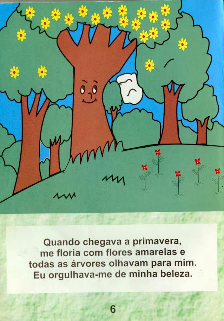 Livro A Árvore que não queria morrer