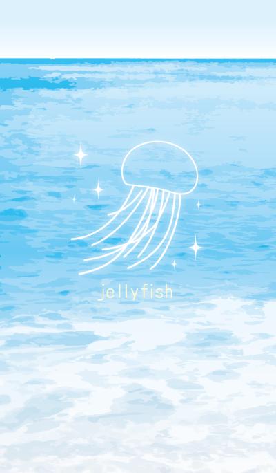 海のクラゲ
