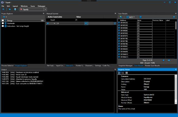 Squalr : Squalr Memory Editor – Game Hacking Tool Written In C#
