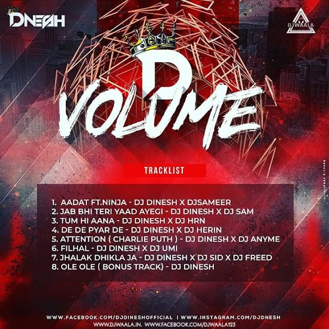 D VOLUME COLLABORATION 1 - DJ DINESH