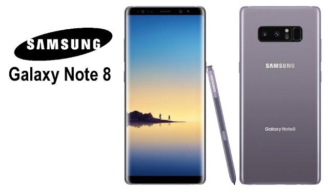 Samsung présente son Galaxy Note 8 !