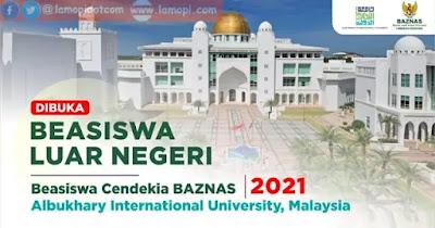 Beasiswa S1 Malaysia BCB AIU