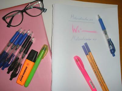 boligrafos subrayadores colores vuelta al cole mioasisdepalabras materialescolar