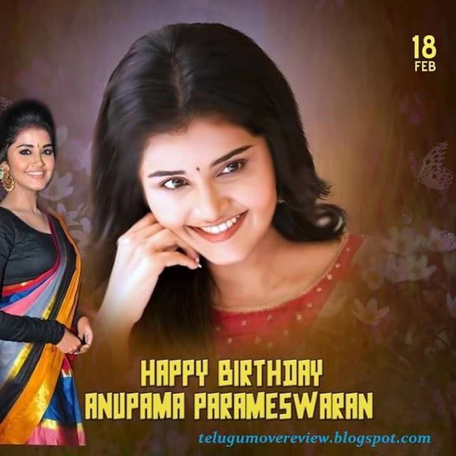 Actress Anupama turns 24--Happy Barthday today