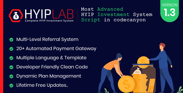 Download HYIPLAB v2.1 nulled - Complete HYIP Investment System