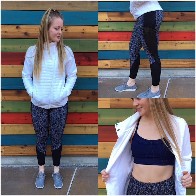 lululemon fleece-be-true-jacket fit-physique-tight-bra