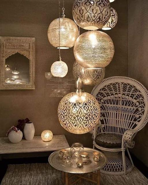 صور للإضاءة ذات الطابع العربي حلوة وفخمه جدا