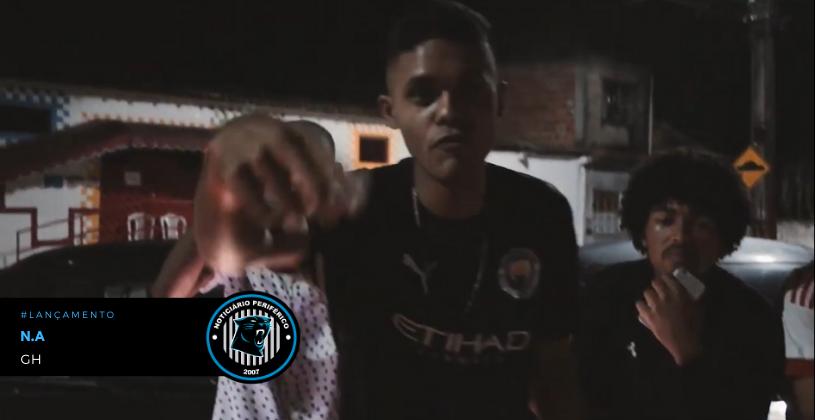 """""""GH"""" é o mais novo clipe do rapper baiano N.A"""