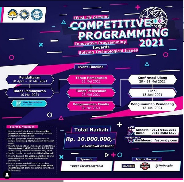 COMPETITIVE PROGRAMMING 2021