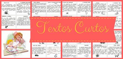Baixe em PDF - Textos Curtos para leitura