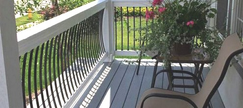 metal balusters for decking