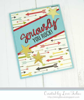 Seriously card-designed by Lori Tecler/Inking Aloud-stamps and dies from Lil' Inker Designs